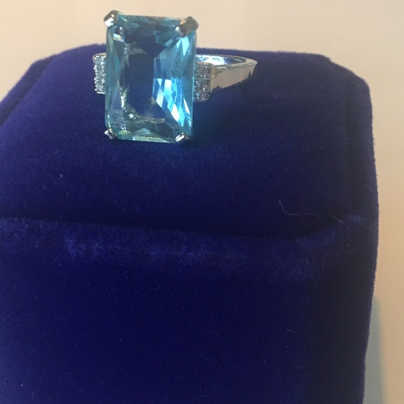 royal jewelry jewelry meghan markle princess diana aquamarine ring poshmark meghan markle princess diana aquamarine ring